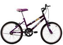 Bicicleta Infantil Aro 20 Feminina Milla Roxa - Dalannio Bike