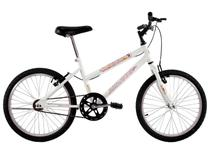 Bicicleta Infantil Aro 20 Feminina Sissa Branca - Dalannio Bike