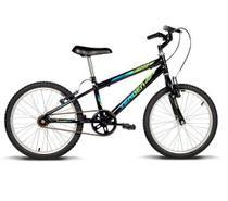 Bicicleta Infantil Aro 20 Folks Preta com Verde - Verden Bike -  UNICA -