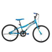 Bicicleta Infantil Aro 20 Houston Trup Freio V-brake Azul Fosco -