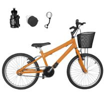 Bicicleta Infantil Aro 20 Laranja Promocional - Flexbikes
