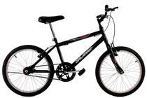 Bicicleta Infantil Aro 20 Masculina Cross Bmx Freestyle Preta - Dal'Annio Bike