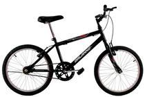 Bicicleta Infantil Aro 20 Masculina Cross Bmx Freestyle Preta - Dalannio Bike