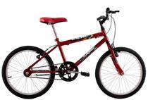 Bicicleta Infantil Aro 20 Masculina Cross Kids Vermelha - Dalannio Bike