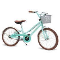 Bicicleta Infantil Aro 20 Nathor - Antonella Com Pezinho -