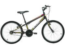 Bicicleta Infantil Aro 20 Polimet 7130 1 Marcha - Preta Freio V-Brake