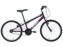 Bicicleta Infantil Aro 20 Polimet 7131 1 Marcha - Preta Freio V-Brake