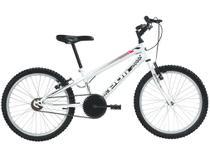 Bicicleta Infantil Aro 20 Polimet 7136 1 Marcha - Branca Freio V-Brake