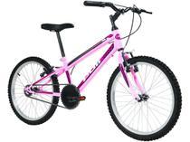 Bicicleta Infantil Aro 20 Polimet 7139 1 Marcha - Rosa Freio V-Brake