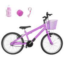 Bicicleta Infantil Aro 20 Rosa Bebê Promocional - Flexbikes