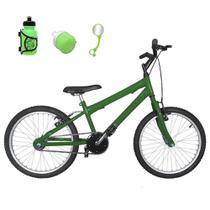 Bicicleta Infantil Aro 20 Verde Promocional - Flexbikes
