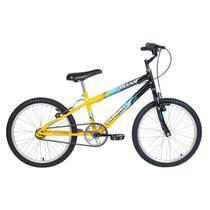 Bicicleta Infantil Aro 20 Verden Bikes Ocean Preta E Amarela -