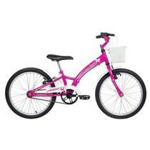 Bicicleta Infantil Aro 20 Verden Bikes Smart Pink E Branca -