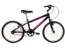 Bicicleta Infantil Aro 20 Verden Folks Preta - Freio V-Brake