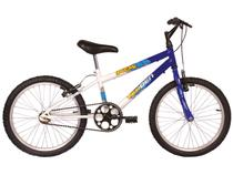 Bicicleta Infantil Aro 20 Verden Ocean - Branca e Azul Freio V-Brake