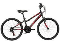 Bicicleta Infantil Aro 24 Caloi Max 21 Marchas     - Preta V-Brake
