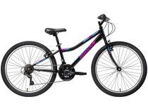 "Bicicleta Infantil Aro 24"" Groove Indie Preta - Freio V-Brake 21 Marchas Câmbio Shimano"