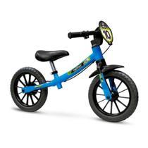 Bicicleta Infantil Balance Sem Pedal Equilíbrio Azul - Nathor -