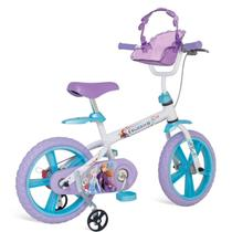 Bicicleta Infantil Bandeirante Frozen II Disney Aro 14 -