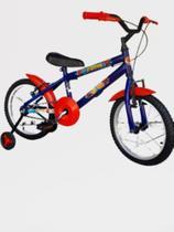 Bicicleta Infantil Bike Menino Aro 16 Homem Aranha - Wendy