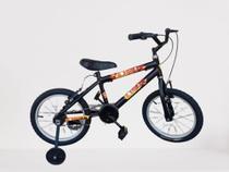 Bicicleta Infantil Bike Menino Aro 16 Homem de Ferro - wendy