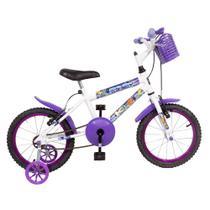 Bicicleta Infantil Blue Girls Aro 16 Freios V.Brake KLS -