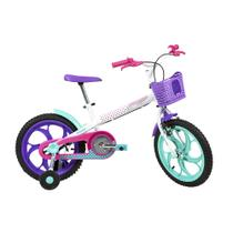Bicicleta Infantil Caloi Ceci Aro 16 - Branco -