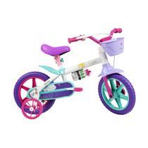 Bicicleta Infantil Caloi Cecizinha Aro 12 - Branco -