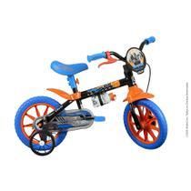 Bicicleta Infantil Caloi Hot Wheels Aro 12 - Preto -