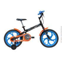 Bicicleta Infantil Caloi Hot Wheels Aro 16 - Preto -