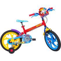 Bicicleta  infantil caloi luccas neto -