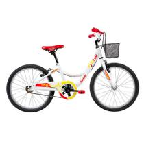 Bicicleta Infantil Caloi Luli Aro 20 - Branco -