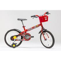 Bicicleta Infantil Caloi Minnie Aro 16 - Vermelho -