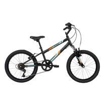 Bicicleta Infantil Caloi Pixel Aro 20 - Supensão dianteira 7 Velocidades - Preto -