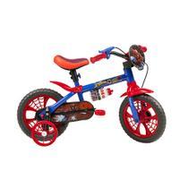 Bicicleta Infantil Caloi Spider Man Aro 12 - Azul -