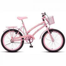 Bicicleta Infantil Ciça Aro 20 Rosa Colli -