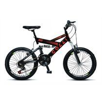 Bicicleta Infantil Colli Fulls GPS Aro 20 Dupla Suspensão 21 Marchas - 310.11D -