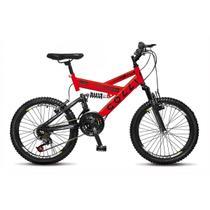 Bicicleta Infantil Colli Fulls GPS Aro 20 Dupla Suspensão 21 Marchas - 310.16D -