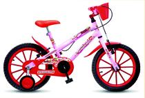 Bicicleta Infantil Colli Moranguinho Aro 16 Fem. - Ds decor