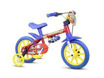 Bicicleta Infantil Criança 3 A 5 Anos Aro 12 Nathor Fireman -