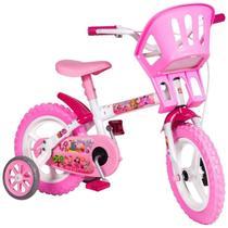 Bicicleta Infantil Criança Aro 12 Princesinhas Com Rodinha - Styll