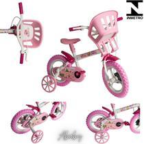 Bicicleta infantil criança aro 12 rosa menina - color baby