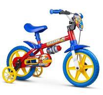 Bicicleta Infantil Criança Fireman Aro 12 - Nathor -