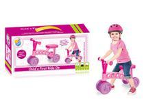Bicicleta infantil do bebe triciclo sem pedal andador equilibrio com 4 rodas bike rider - MAKEDA