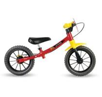 Bicicleta Infantil Equilíbrio Balance Aro 12 - Nathor -  FAST -