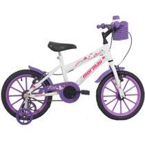 Bicicleta infantil feminina aro16 mormaii -