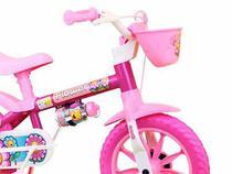 Bicicleta Infantil Feminina Flower Nathor Aro 12 -