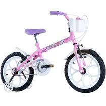 Bicicleta Infantil Feminina Pinky Aro 16 Rosa Fúscia - Track Bikes - Track & Bikes