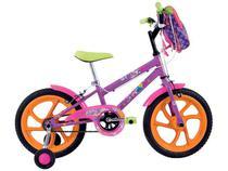 Bicicleta Infantil Feminina Poly Aro 16 - Monovelocidade - Houston