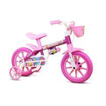 Bicicleta Infantil Flower Aro 12 - Nathor -